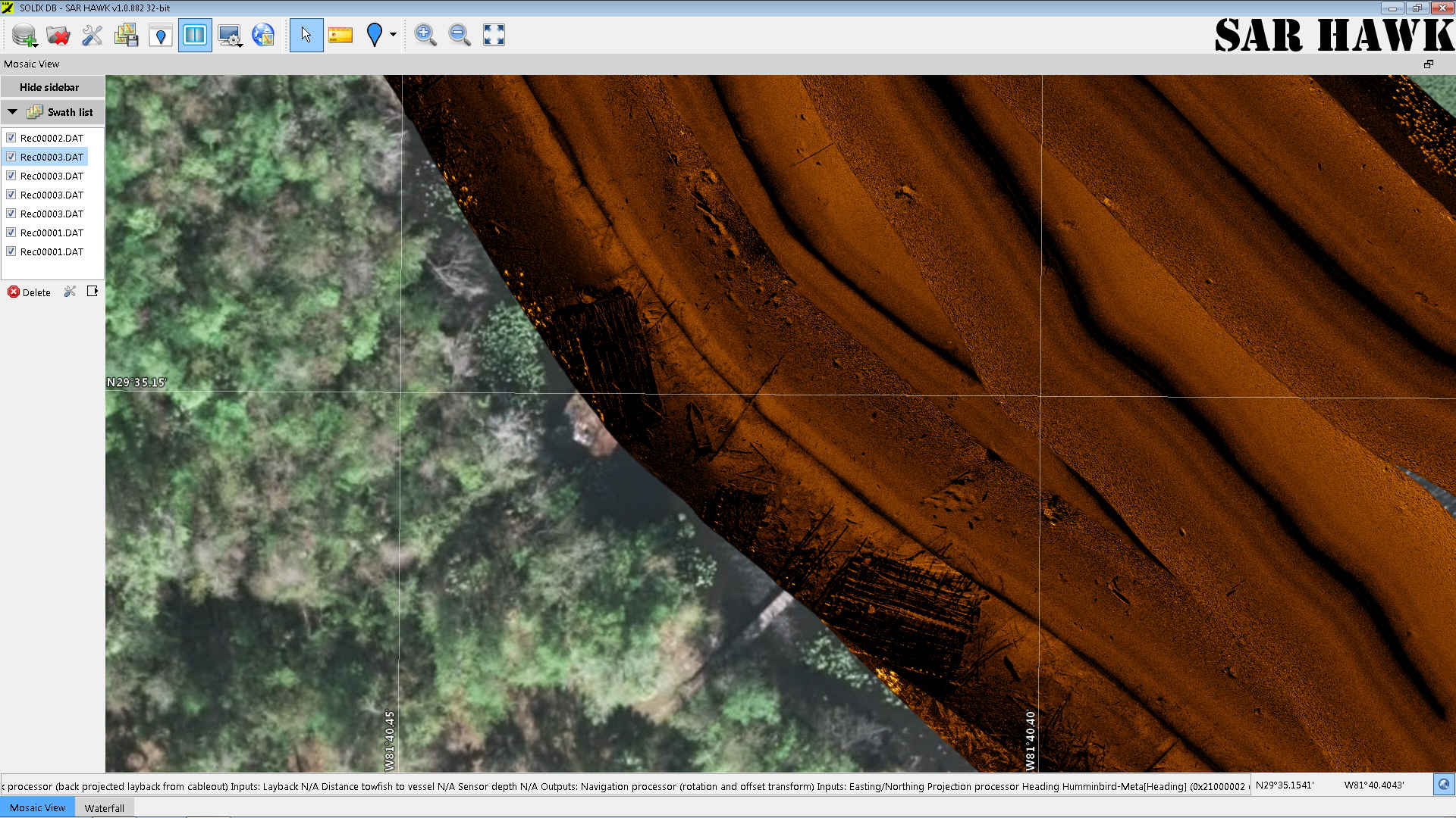 SAR HAWK® Humminbird® Sonar Target Acquisition Software – Black